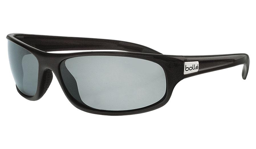 Bolle Anaconda Sunglasses - Shiny Black / TNS HD Polarised