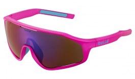 Bolle Shifter Sunglasses - Matte Pink / Brown Blue