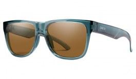 Smith Lowdown 2 Sunglasses - Crystal Stone Green / ChromaPop Brown Polarised