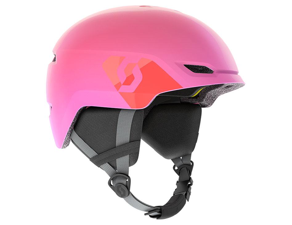 Scott Keeper 2 Plus MIPS Junior Ski Helmet - High Viz Pink