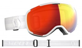 Scott Faze II Ski Goggles - White / Light Sensitive Red Chrome Photochromic
