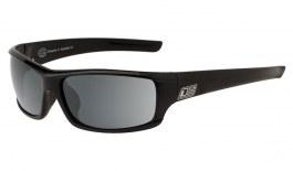 Dirty Dog Clank Sunglasses - Black / Grey Polarised