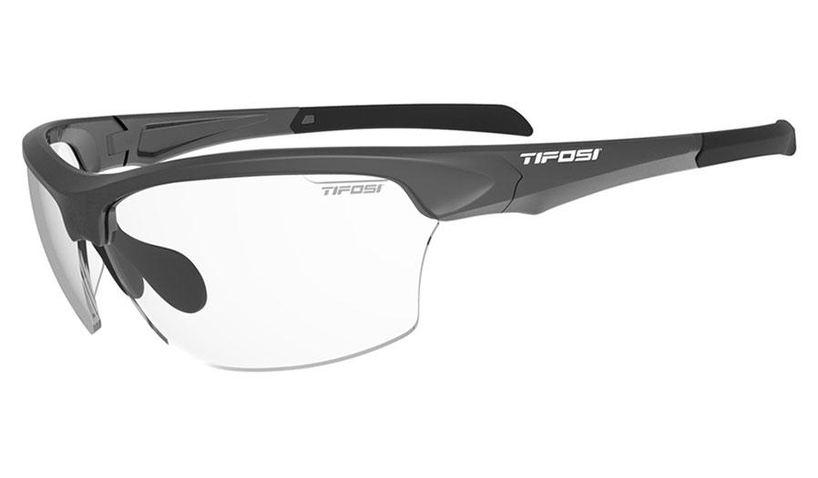 Tifosi Intense Sunglasses - Matte Gunmetal / Clear