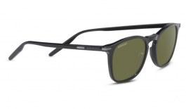 Serengeti Delio Sunglasses - Shiny Black / 555nm Polarised Photochromic