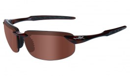 Wiley X Tobi Sunglasses - Brown Crystal / Bronze