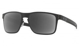 Oakley Holbrook Metal Prescription Sunglasses - Matte Black (White Icon)