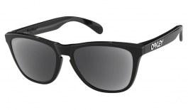 Oakley Frogskins Prescription Sunglasses - Polished Black