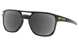 Oakley Latch Beta Prescription Sunglasses - Polished Black (Gold Icon)