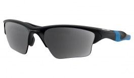 Oakley Half Jacket 2.0 XL Prescription Sunglasses - Matte Black & Blue