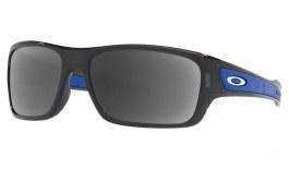 Oakley Turbine XS Prescription Sunglasses - Black Ink (Polished Chrome Icon)