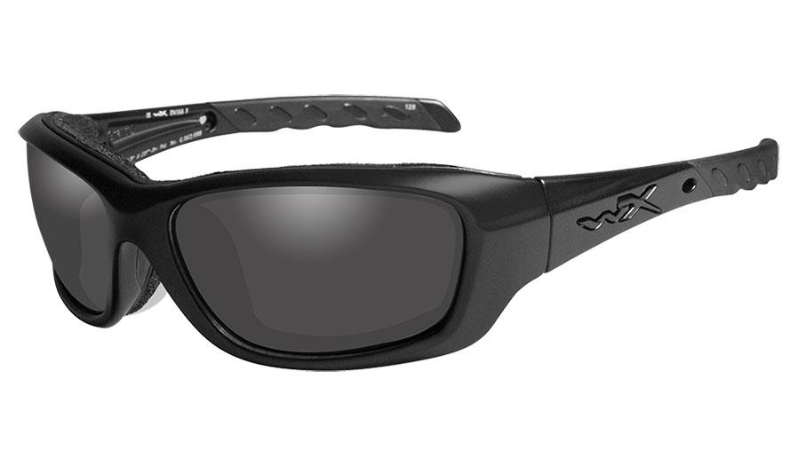 Wiley X Gravity Sunglasses - Black Ops Matte Black / Smoke Grey