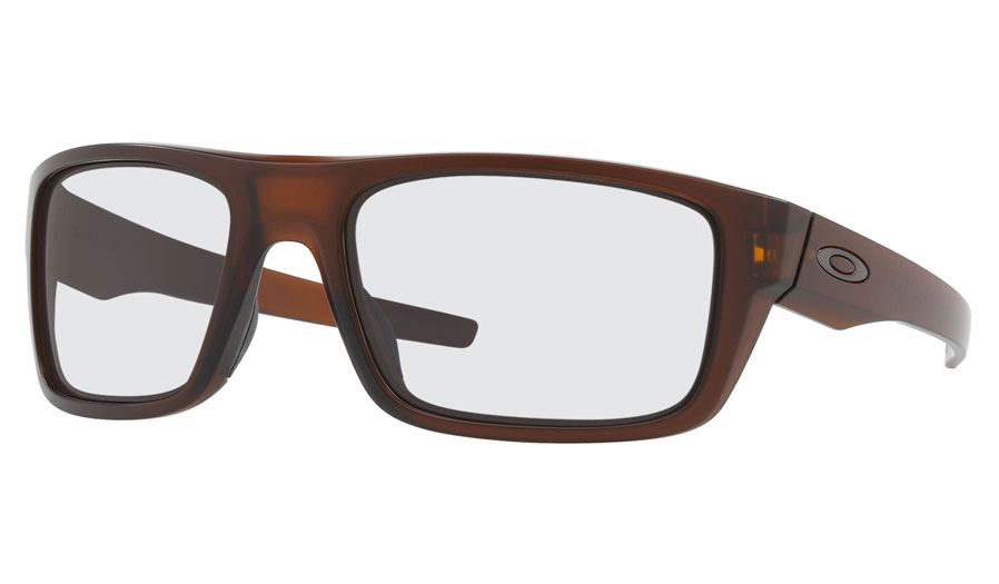 bbfa4df64b Oakley Drop Point Prescription Sunglasses - Matte Rootbeer - RxSport