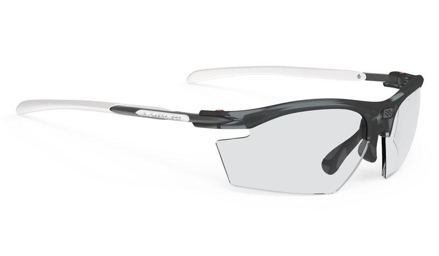 Rudy Project Rydon Prescription Sunglasses - Directly Glazed - Frozen Ash & White