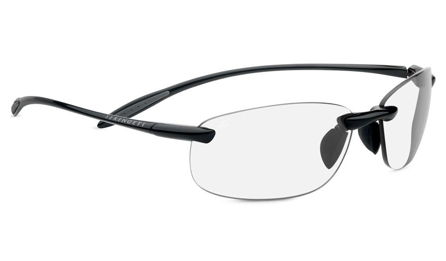 4ac0a1228f Serengeti Nuvola Prescription Sunglasses - Shiny Black - RxSport