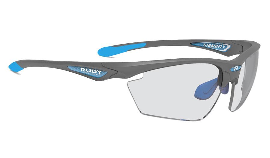 Rudy Project Stratofly Prescription Sunglasses - Directly Glazed - Matte Pyombo