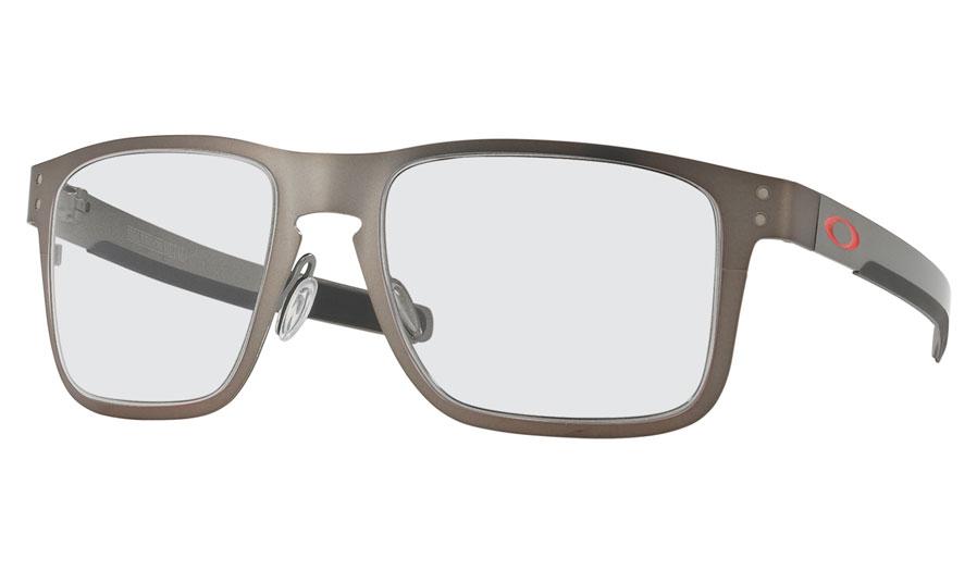 083bdfa2e0 Oakley Holbrook Metal Prescription Sunglasses - Matte Gunmetal (Red ...