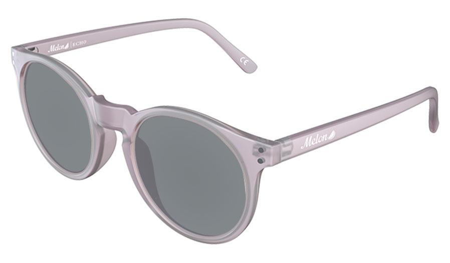 Melon Echo Prescription Sunglasses - Matte Grey Frost