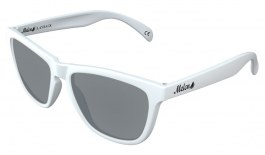 Melon Layback Prescription Sunglasses - Matte White