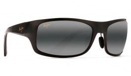 Maui Jim Haleakala Prescription Sunglasses - Gloss Black