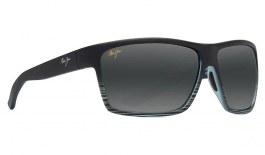 Maui Jim Alenuihaha Prescription Sunglasses - Grey Black Stripe