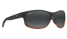 Maui Jim Kaiwi Channel Prescription Sunglasses - Dark Brown Stripe