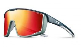 Julbo Fury Sunglasses - Dark Blue & Green / Spectron 3 CF Red