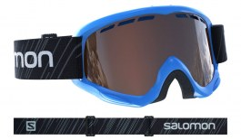 Salomon Juke Ski Goggles - Blue Pop (Access Edition) / Solar Tonic Orange
