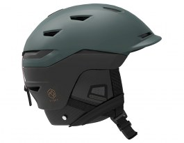 Salomon Sight Custom Air Ski Helmet - Green Gables