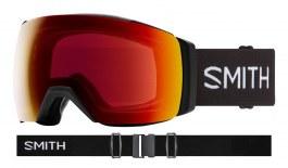 Smith I/O MAG XL Prescription Ski Goggles - Black / ChromaPop Sun Red Mirror + ChromaPop Storm Yellow Flash