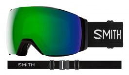 Smith I/O MAG XL Ski Goggles - Black / ChromaPop Sun Green Mirror + ChromaPop Storm Rose Flash