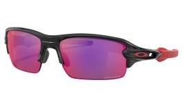 Oakley Flak XS Sunglasses - Polished Black / Prizm Road