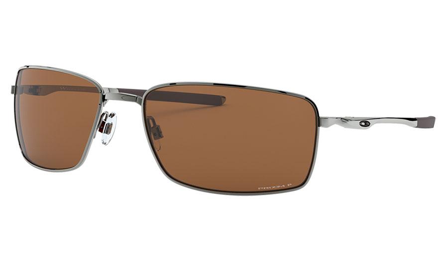 Oakley Square Wire Sunglasses - Tungsten / Prizm Tungsten Polarised