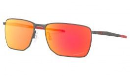 Oakley Ejector Sunglasses - Matte Gunmetal / Prizm Ruby