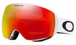 Oakley Flight Deck XM Prescription Ski Goggles - Matte White / Prizm Torch Iridium