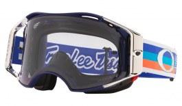 Oakley Airbrake MTB Prescription Goggles - Troy Lee Designs Edition Premix Navy Orange / Prizm MX Low Light
