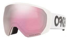 Oakley Flight Path XL Prescription Ski Goggles - Factory Pilot White / Prizm HI Pink Iridium