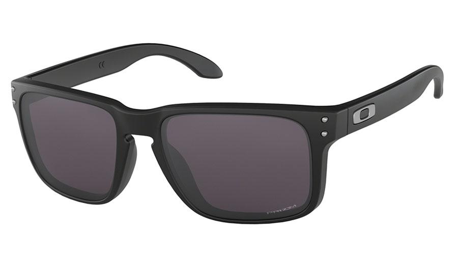Oakley Holbrook Sunglasses - Matte Black / Prizm Grey