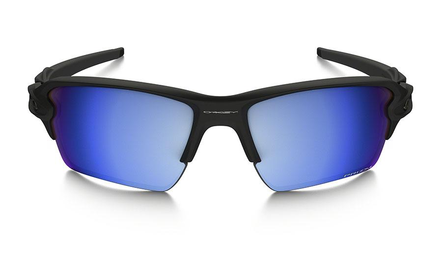 31134386ad0 Oakley Flak 2.0 XL Sunglasses - Matte Black   Prizm Deep Water Polarised -  RxSport