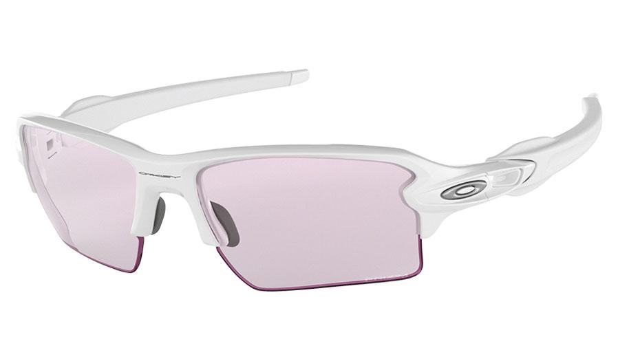 7e83d9ae6c2 Oakley Flak 2.0 XL Sunglasses - Polished White   Prizm Low Light ...