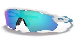 Oakley Radar EV Path Sunglasses - Polished White / Prizm Sapphire