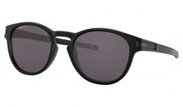 Oakley Latch Sunglasses - Matte Black / Prizm Grey