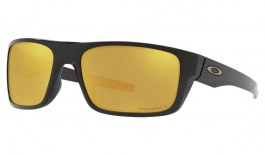 Oakley Drop Point Sunglasses - Midnight Collection Polished Black / Prizm 24K Polarised