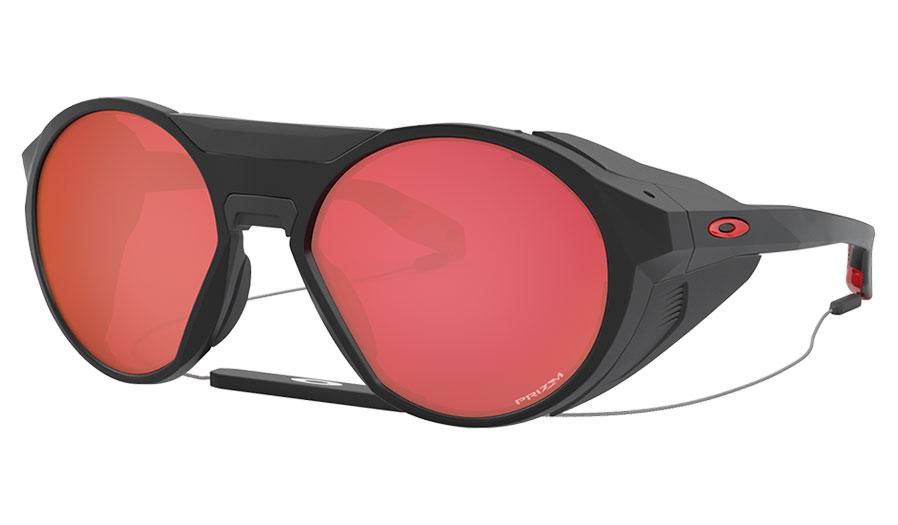 Oakley Clifden Sunglasses - Matte Black / Prizm Snow Torch