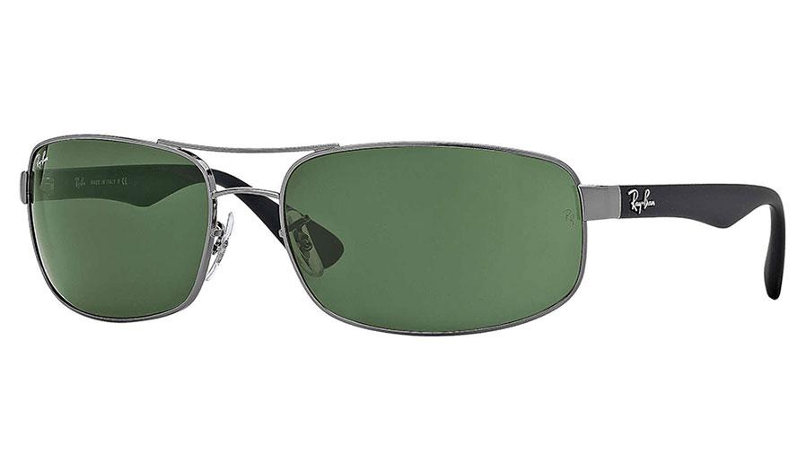 30ec8882be Ray-Ban RB3445 Sunglasses - Gunmetal   Green (G-15) - RxSport