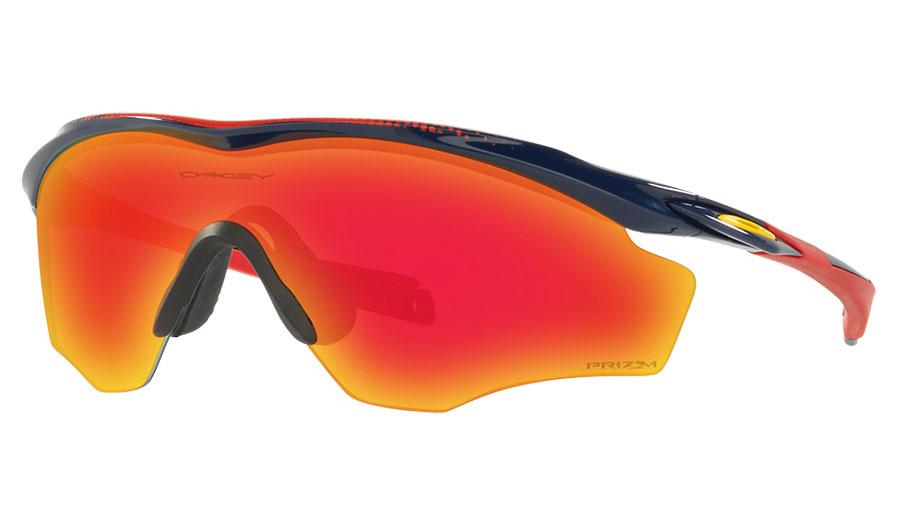 9c3efd1485 Oakley M2 Frame XL Sunglasses - Navy   Prizm Ruby - RxSport