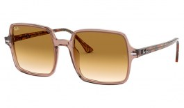 Ray-Ban RB1973 Square II Sunglasses - Transparent Light Brown / Brown Gradient