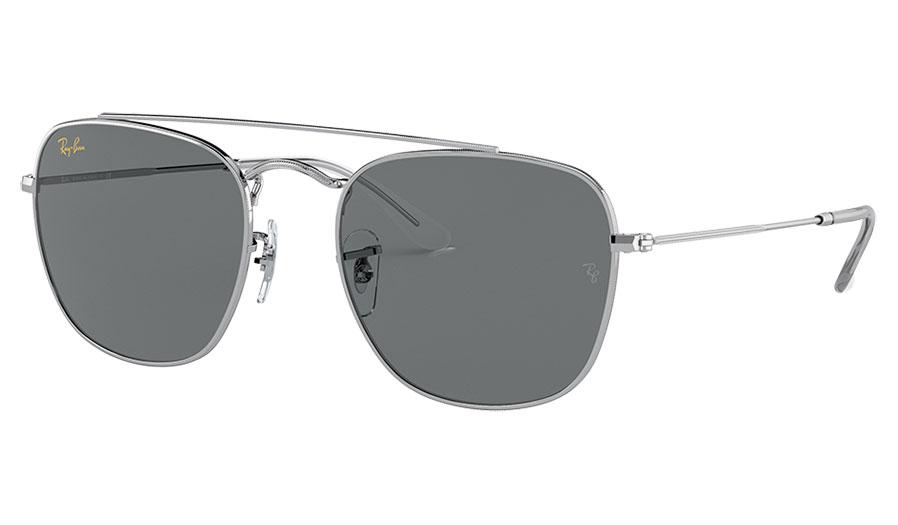 Ray-Ban RB3557 Sunglasses - Silver / Dark Grey