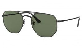 Ray-Ban RB3609 Sunglasses - Black / Green