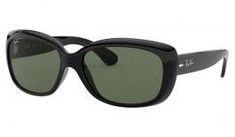 Ray-Ban RB4101 Jackie Ohh Sunglasses - Black / Green