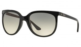 Ray-Ban RB4126 Cats 1000 Sunglasses - Black / Grey Gradient